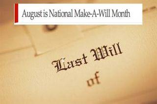 Make a will