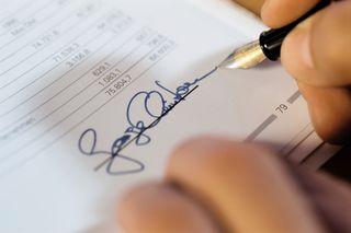 Tax Return Signature