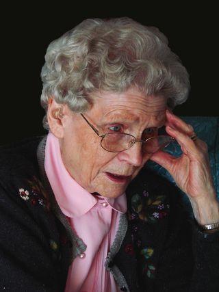 Elderly shocked