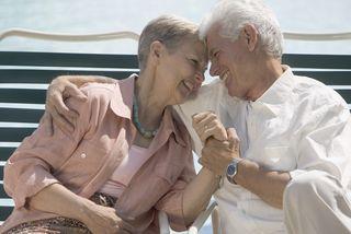 Elder People Happy